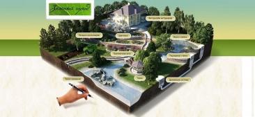 Портфолио зеленый город