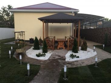 Портфолио озеленение частного дома