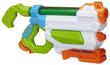 Игрушечное оружие, Hasbro Nerf A9466 Бластер Супер Сокер Потоп