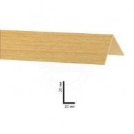 Настенные панели Аксессуары для панелей Декопласт, Угол Decoplast бук ясный 10х20 мм