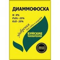 Удобрения Азотно-фосфорно-калийные удобрения Удобрение диаммофоска 0,9 кг