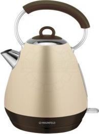 Электрические чайники Чайник электрический MAUNFELD, MFK-660 BG бежевый с перламутром