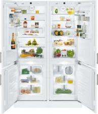 Встраиваемая техника Встраиваемый холодильник Side by Side Liebherr, SBS 66 I3-22