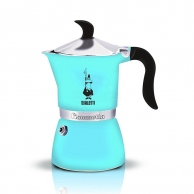 Гейзерные кофеварки Гейзерная кофеварка Bialetti Fiametta 4632 голубой