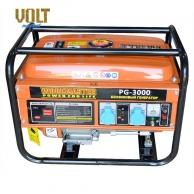 Бензогенераторы 2-5 кВт Генератор бензиновый WORKMASTER PG-3000