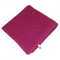 Полотенца Полотенце махровое Ocean СТМ, размер: 30х50см, гладкокрашеное, т.бордовый, 380г/м2, 100%хлопок, Ростексстрой СП ООО