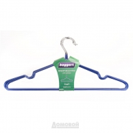 Вешалки Набор вешалок для одежды, 5 шт, металл с ПВХ-покрытием, Market Union Co., Ltd.