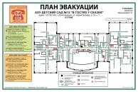 Изготовление табличек, наклеек, знаков планы эвакуации