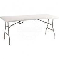 Столы садовые CMI, Стол складной CMI Taloga пластик, сталь 180х74х74 см