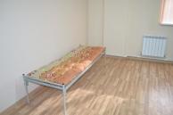 Кровати Кровать одноярусная  с прямой спинкой 190*80, Собственное производство