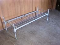 Кровати Кровать одноярусная  с прямой спинкой 1300, Собственное производство