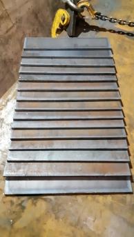 Услуги по металлообработке Раскрой листовой стали газорежущим оборудованием