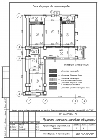 Изготовление макетов Проект перепланировки квартиры/помещения