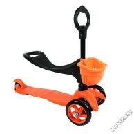 Самокаты Самокат с сиденьем Saddler, оранжевый (Explore 4276)