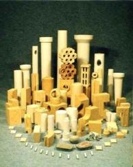Строительные блоки, кирпич трубки керамические МКР