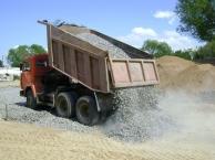 Доставка строительных материалов Песок, щебень, гравий, грунт, ПГС, асфальт, бетон