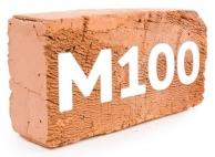 Красный кирпич М100