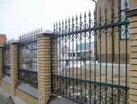 Кованные заборы и ворота