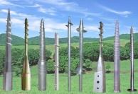 Винтовые столбы для заборов
