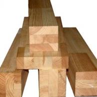 Брус деревянный строганый