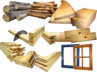 Строительные материалы из дерева