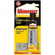 Клей МОМЕНТ, Клей Момент универсальный Кристалл 30 мл