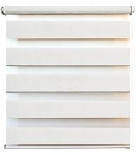 Рулонные шторы Штора рулонная день/ночь 0,80х1,60 м Канзас белый