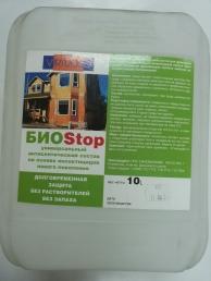 Антисептики и пропитки БИОStop VIRTUOSO 10л биоцидный состав д/борьбы с деревопоражающими насекомыми
