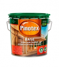 Антисептики и пропитки Деревозащитная грунтовка Pinotex Base 2,7 л